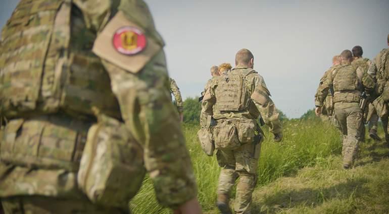 Styrk det danske militær